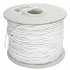 Elastic Cord Small White 1mm